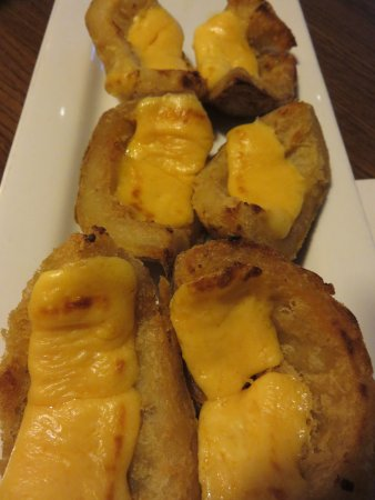 Port Orange, FL: Potato skins appetizer