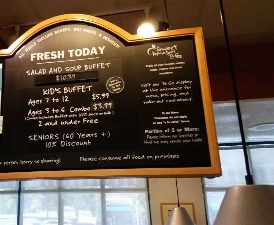 the prices are good picture of sweet tomatoes clackamas rh tripadvisor co za sweet tomatoes restaurant prices sweet tomatoes buffet price 2018
