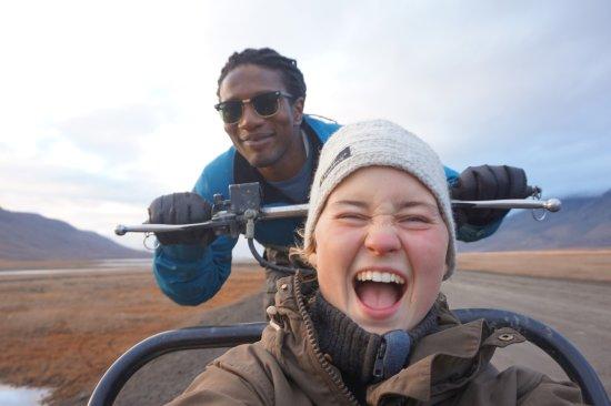 Лонгйирбиен, Норвегия: SHE RULES!