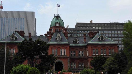 Former Hokkaido Government Office Building: 本当に赤れんがです