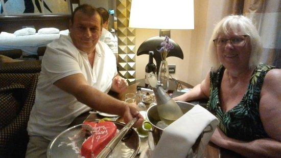 Calista Luxury Resort: Mon anniversaire