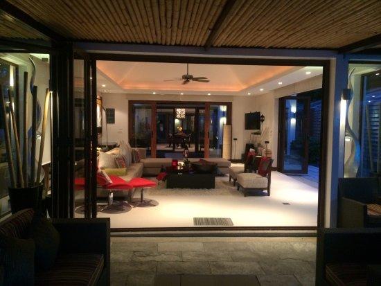 Lotus Samui: Beach front villa & beach