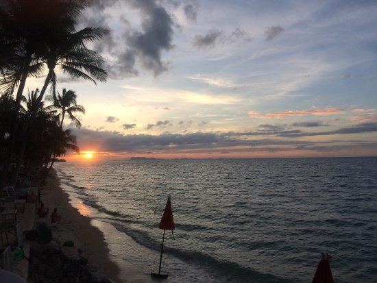 The Lotus Terraces : Beach front villa & beach