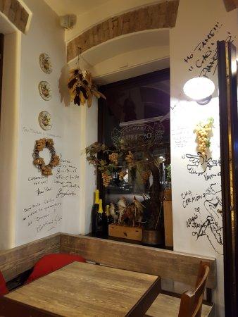 Cormons, Italia: Interno addobbo