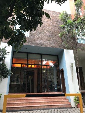 juSTa MG Road, Bangalore: Front Door