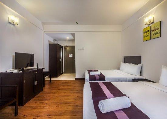 Bentong, Μαλαισία: Deluxe Quad Room 1