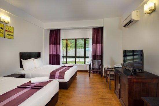 Bentong, Μαλαισία: Deluxe Quad Room 2