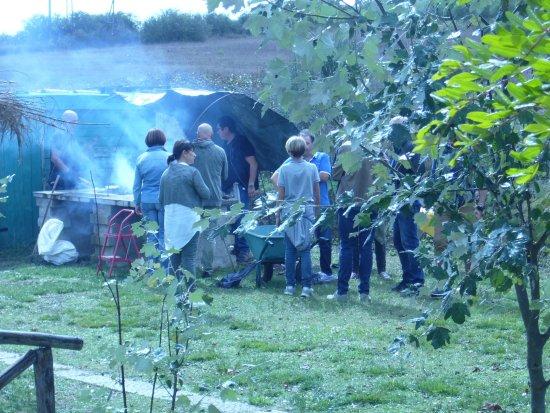 Vejano, Italia: Possibilità di utilizzo barbecue