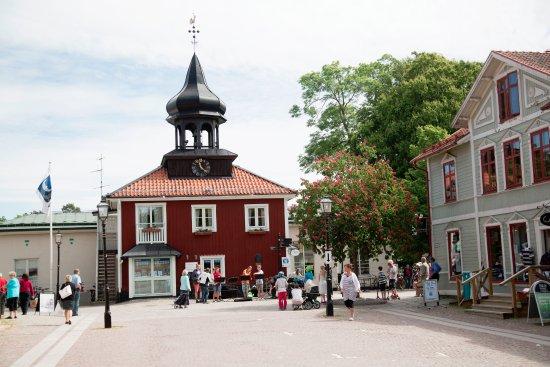 Trosa, السويد: Rådstugan, Torget