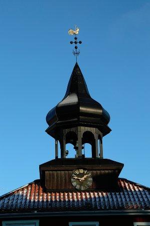 Trosa, السويد: Vackra kupolen på Rådstugans tak