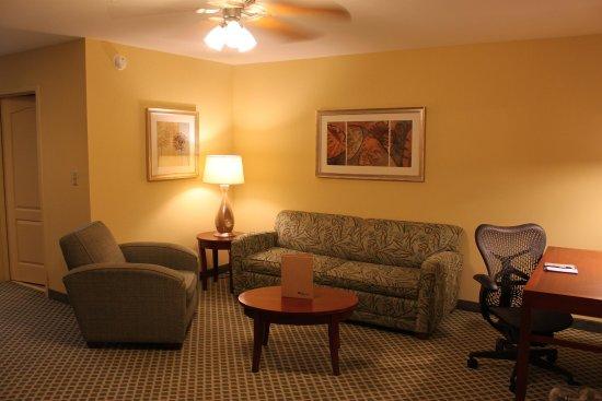 Conway, أركنساس: One Bedroom Suite Living Room