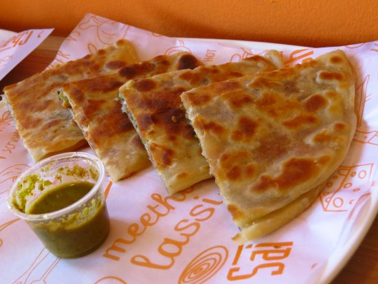 Image result for pizza paratha