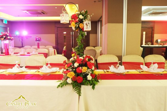 Castle Peak Hotel: Make your dream wedding a reality with us.