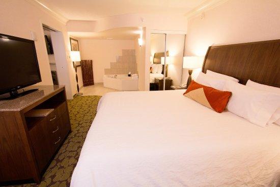 Hilton Garden Inn Saskatoon Downtown: King Whirlpool Suite