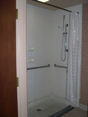 Charleston, Virginia Occidental: Roll-in Shower