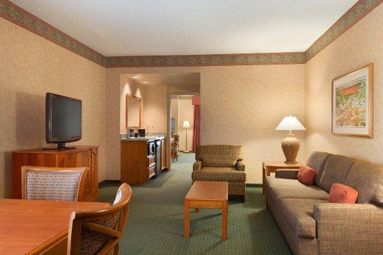 Charleston, Virginia Occidental: Suite Sitting Area