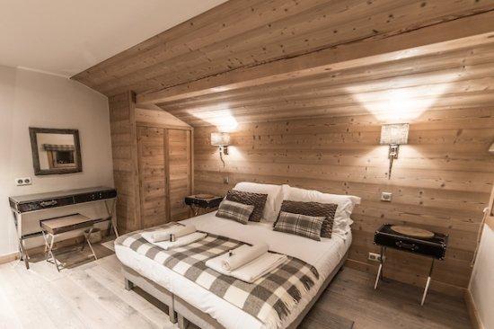 TGski Chalets Morzine: Bedroom in Les Pierrys