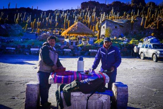 Hostal Valle Hermoso : Nuestros guias