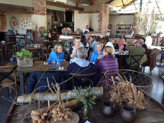 Vine Tours: Beautiful lunch stop