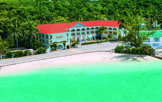 Sandals Carlyle: Carlysle Red Roof VBlue