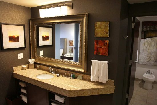 DoubleTree by Hilton Rochester / Mayo Clinic Area: 1 King Premium 2 Room Suite