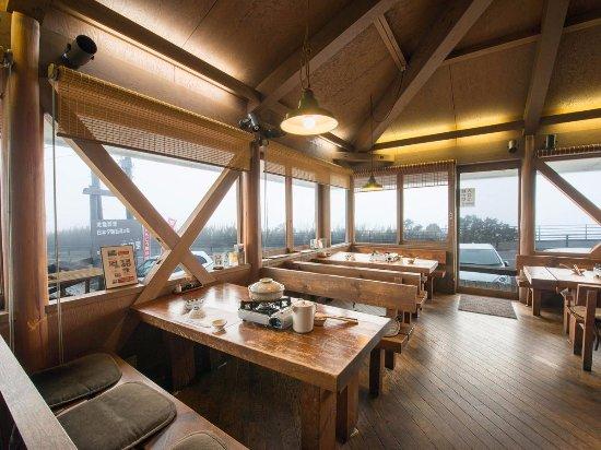 Asahi, Japan: 九十九里浜を見渡しながらのお食事ができます。