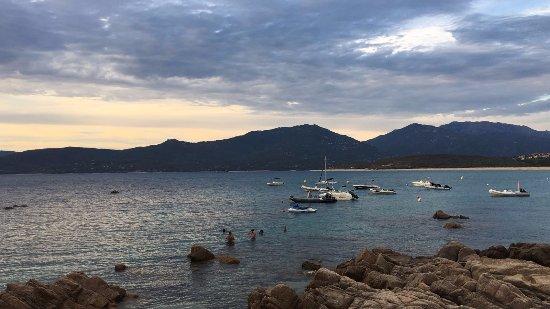 Hotel Cala Lunga: Tramonto al mare