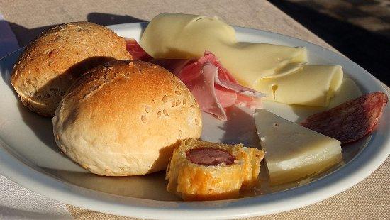 Hotel Borgo Pantano: A savoury breakfast