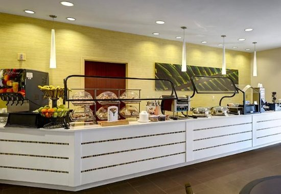 SpringHill Suites Orlando Convention Center/International Drive Area: Breakfast Bar