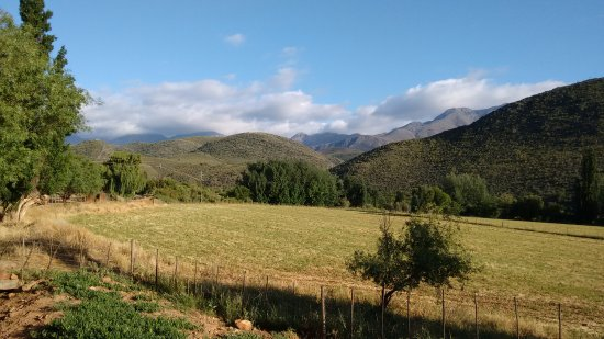 Oudtshoorn, Sydafrika: a breathtaking view from our room