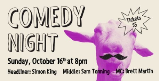 ‪‪Surrey‬, كندا: It's Comedy Night At The Henry Public House – October 16, 2016‬