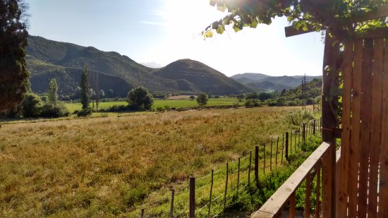 Oudtshoorn, Sydafrika: View from the balcony