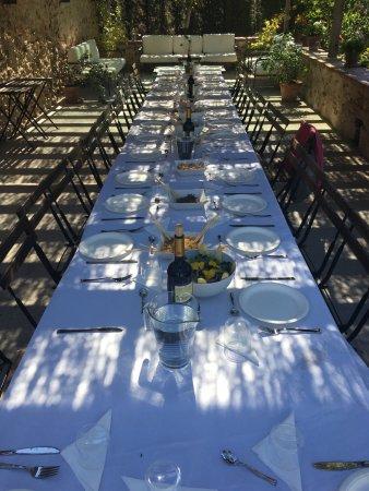 Hoyuelos, Hiszpania: Воскресный обед