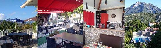 Levens, Francja: quelques photos au  Restaurant de la Piscine