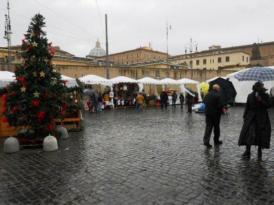 Piazza r mercatino natale foto di piazza del - Mercatino di natale piazza mazzini roma ...
