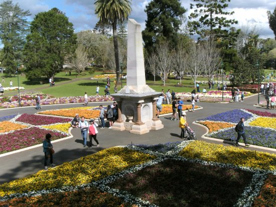 Toowoomba, Avustralya: Centre point of gardens