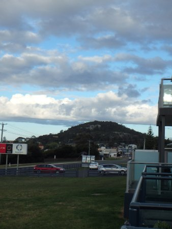 Bicheno, Australia: View from room balcony