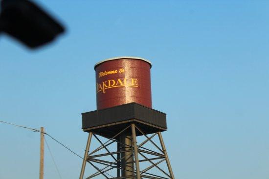 Arrivée à Oakdale, CA
