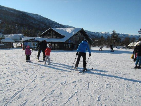 Geilo, wintersport (je zegt trouwens: Jaailóo)