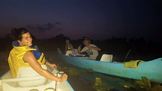 Vilanculos, Мозамбик: Night Canoeing With the Stars & Firefly's