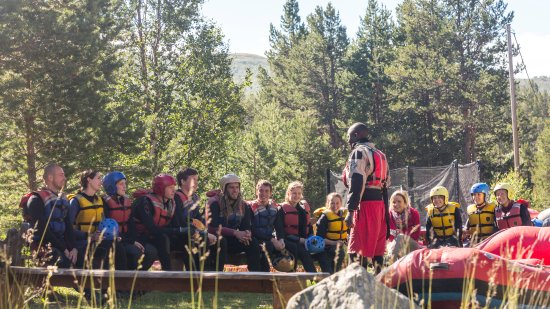 Geilo, Norvège : Safety talk