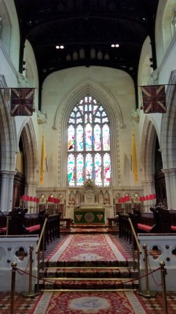 St. Columb's Cathedral: The altar