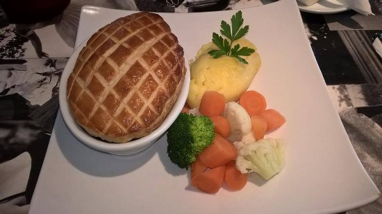 Burnley, UK: Steak and Ale Pie from our Crafty Meals Menu