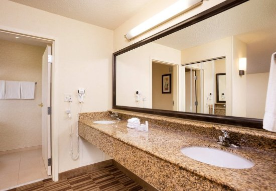 Natick, MA: Suite Bathroom
