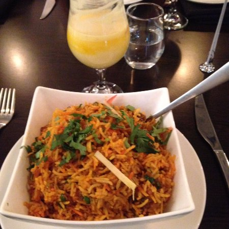 Warwick, Australia: Little India: Lamb Biryani and mango lassi