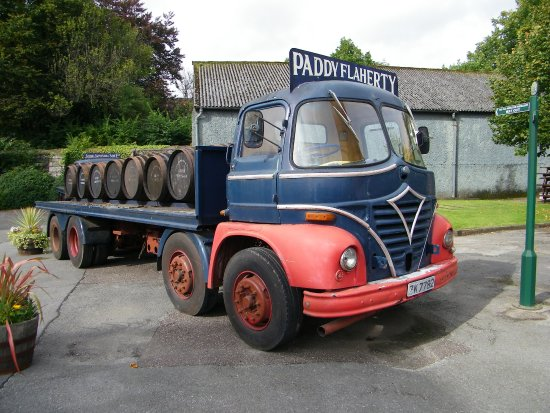 Midleton, Irlanda: vecchio truck 2