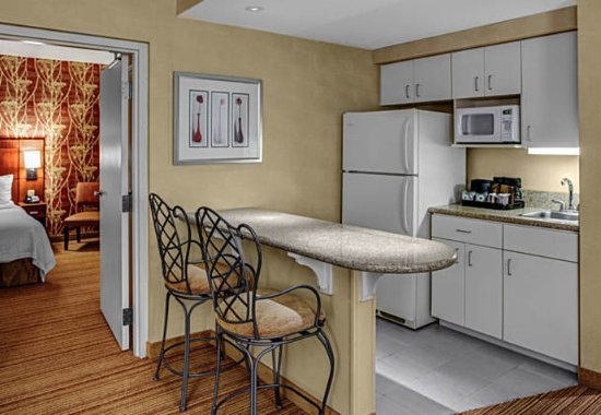 High Point, NC: King Suite Kitchen Area
