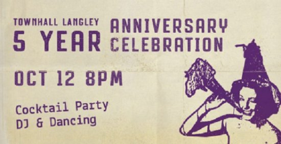 Langley City, كندا: TOWNHALL LANGLEY IS TURNING 5