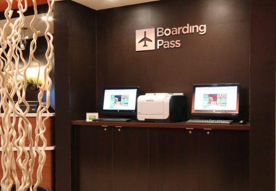 Φλιντ, Μίσιγκαν: Boarding Pass Print Station