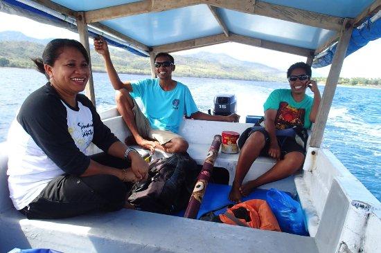 Larantuka, Indonesia: Boat travel to Wureh, Adonara